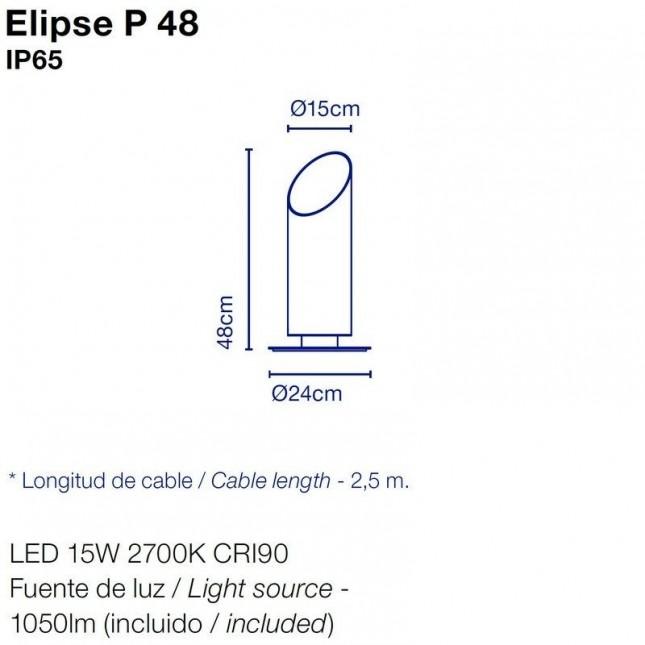 ELIPSE BOLLARD BY MARSET
