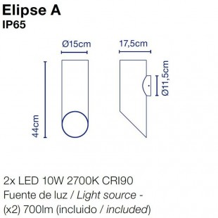 ELIPSE APPLIQUE DE MARSET