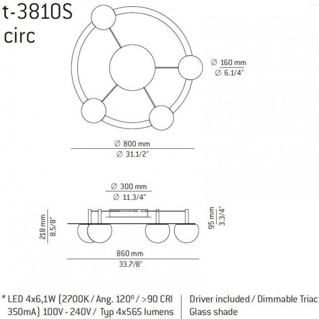 CIRC T-3810S DE ESTILUZ