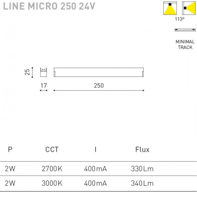 LINE MICRO 24V BY ARKOS LIGHT