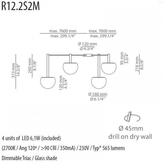 CIRC R30.2S2M DE ESTILUZ