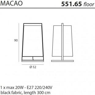 MACAO 551.65 DE TOOY