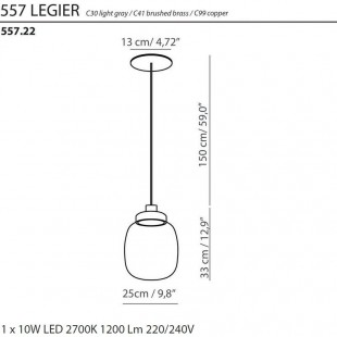 LEGIER 557.22 BY TOOY