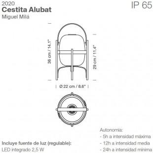 CESTITA ALUBAT BY SANTA & COLE