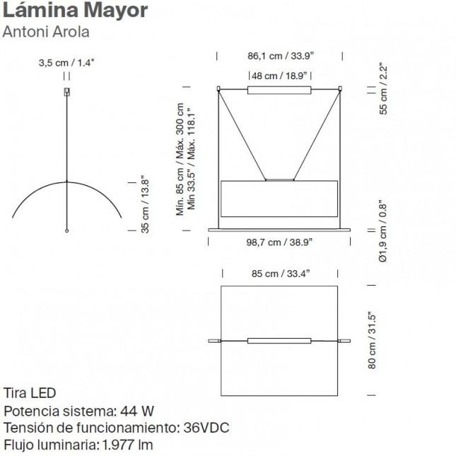LAMINA MAYOR DE SANTA & COLE
