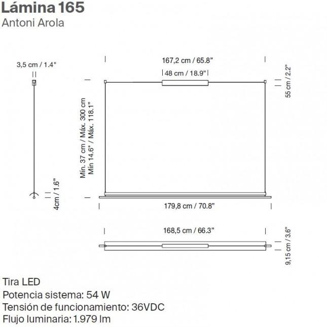 LAMINA 165 DE SANTA & COLE