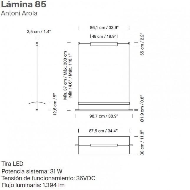 LAMINA 85 BY SANTA & COLE