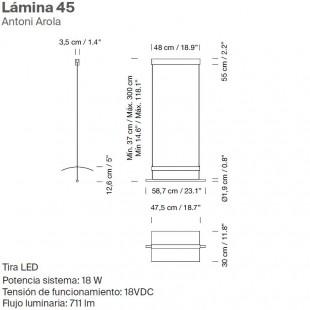 LAMINA 45 BY SANTA & COLE