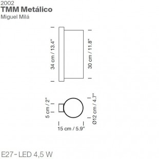 TMM METALICO BY SANTA & COLE