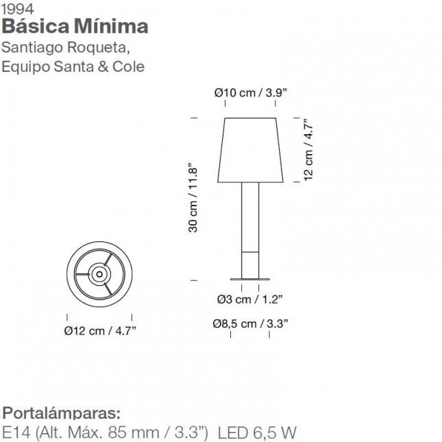 BASICA MINIMA DE SANTA & COLE