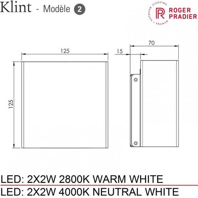 KLINT MODEL 2 BY ROGER PRADIER