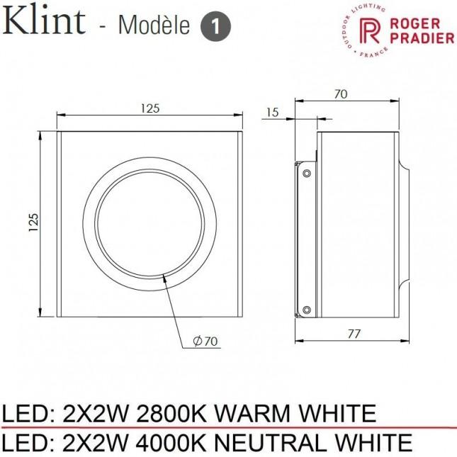 KLINT MODEL 1 BY ROGER PRADIER