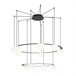 CIRC CHANDELIER 1SP1MP BY...