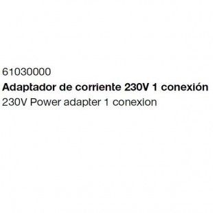 ADAPTADOR CORRIENTE WATERPROOF 1 CONEXION