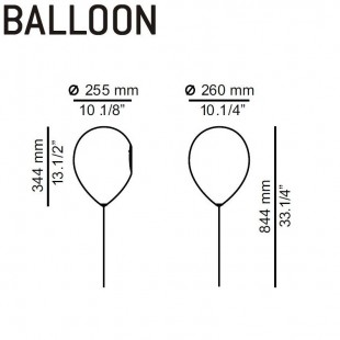 BALLOON APLIQUE
