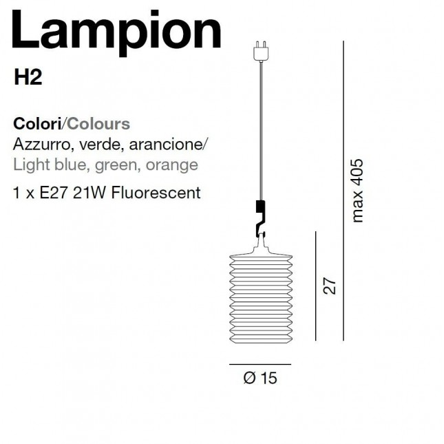 LAMPION H2 DE ROTALIANA