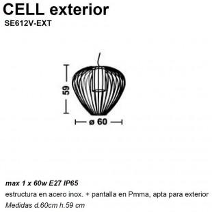 CELL COLGANTE EXTERIOR DE KARMAN