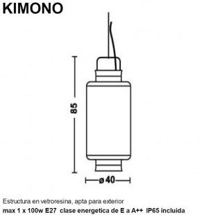 KIMONO IP65 PARA EXTERIOR DE KARMAN