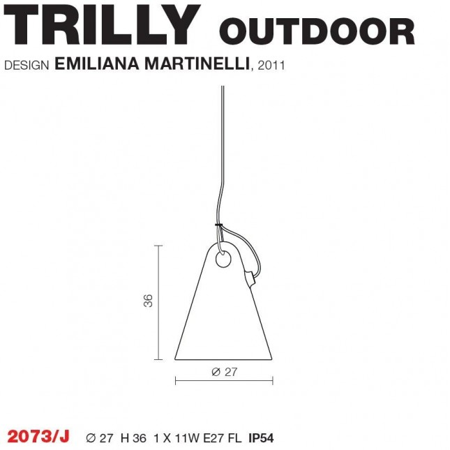TRILLY OUTDOOR DE MARTINELLI LUCE