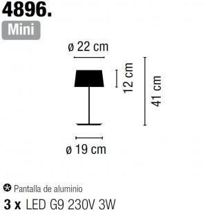 WARM MINI 4896 DE VIBIA