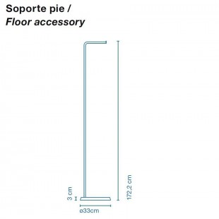 SOPORTE PIE PARA SANTORINI DE MARSET
