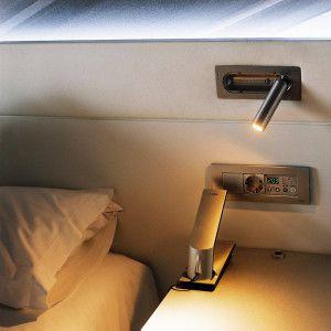 Luz de pared para mesita de noche el blog de for Lamparas cabezal cama
