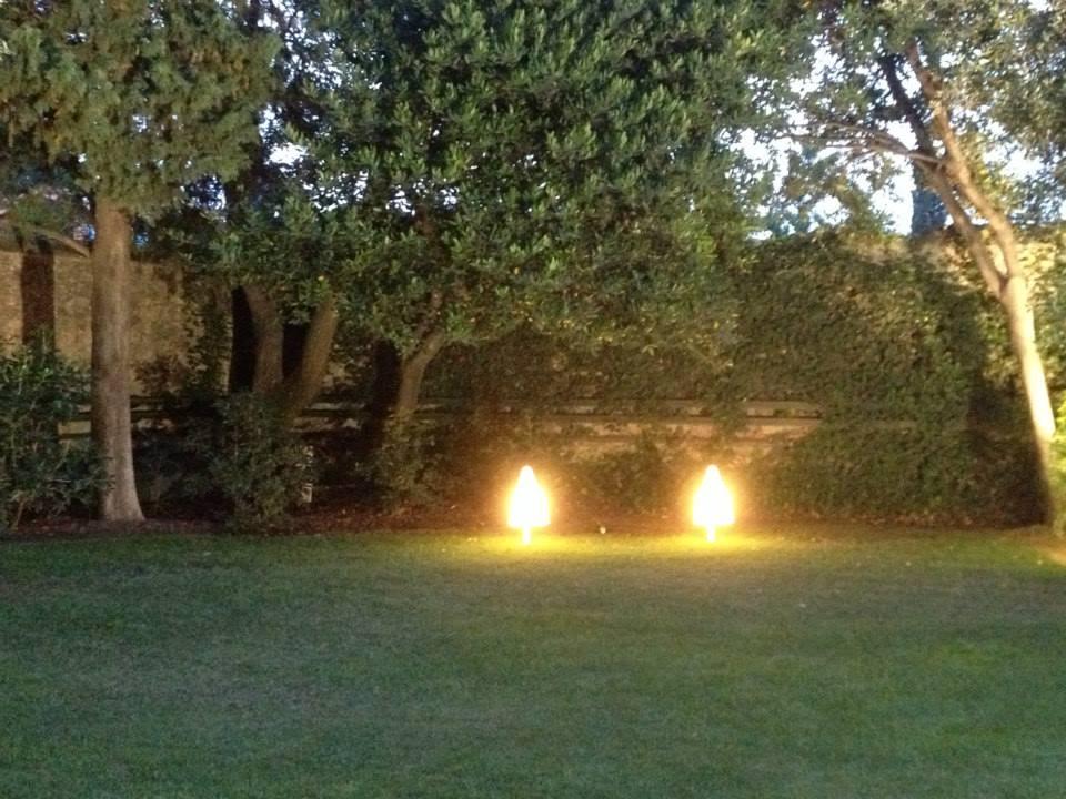 Iluminación en el Festival Castell de Perelada