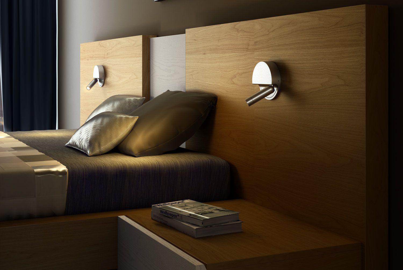 Luz de pared para mesita de noche el blog de - Mesitas de noche de pared ...