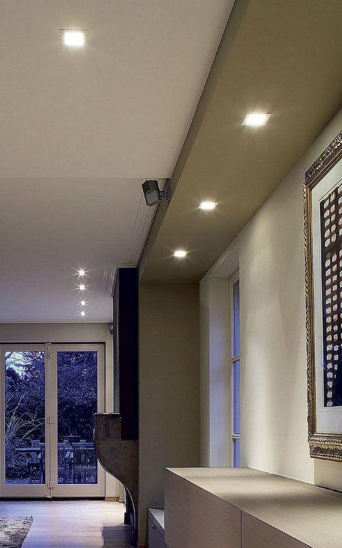 carree-delta-light iluminación del salón