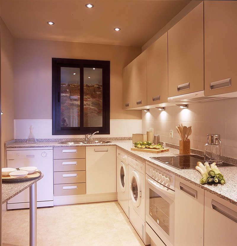 Iluminar la zona de trabajo en tu cocina el blog de - Como amueblar la cocina ...