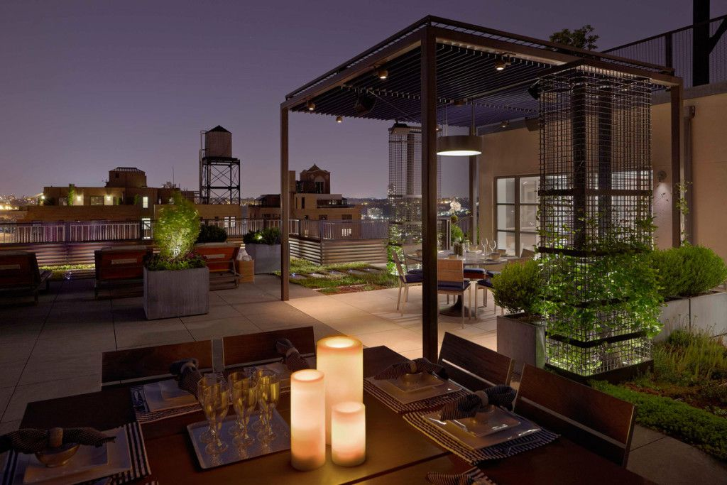 Ideas para iluminar el jard n o terraza el blog de for Luces de exterior para terrazas