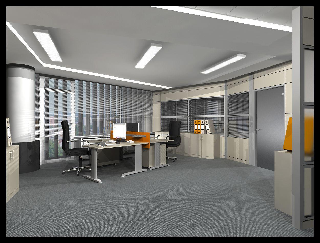 Iluminaci n de oficinas el blog de - Iluminacion de techo ...