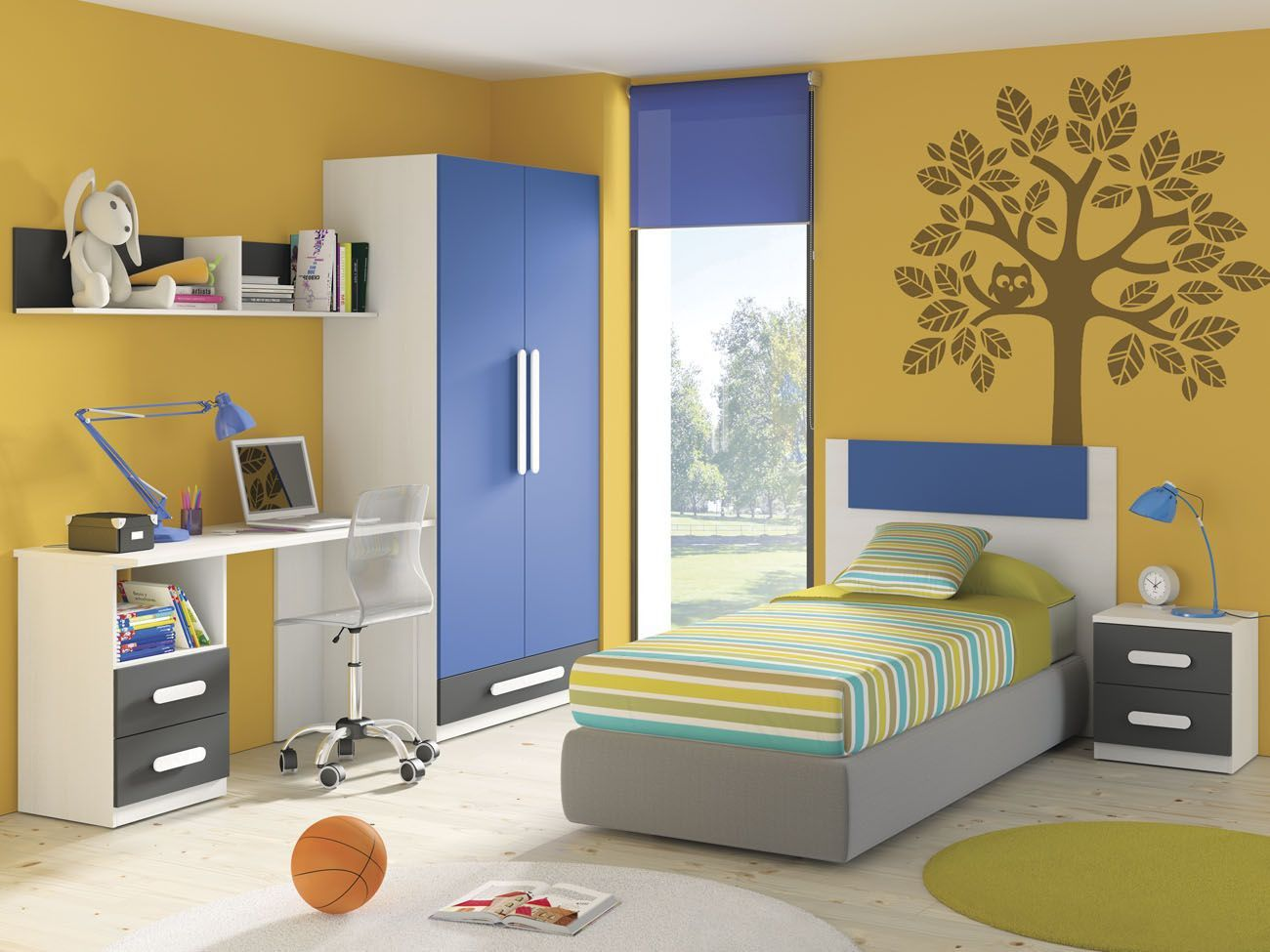 Iluminar el dormitorio infantil o juvenil el blog - Mueble juvenil diseno ...
