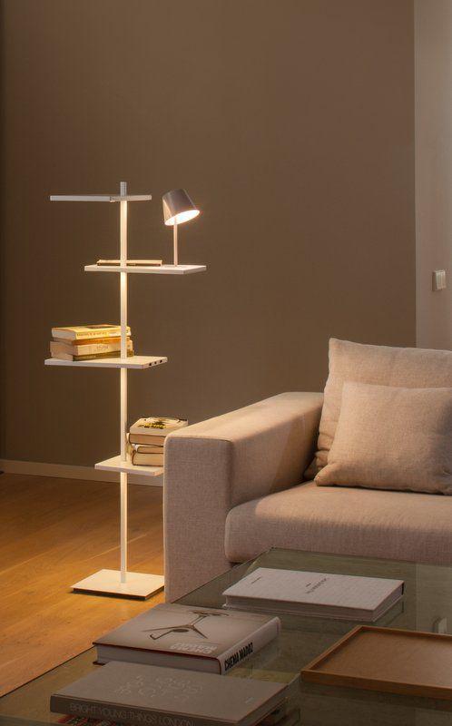 pie-salon-suite-vibia iluminación del salón