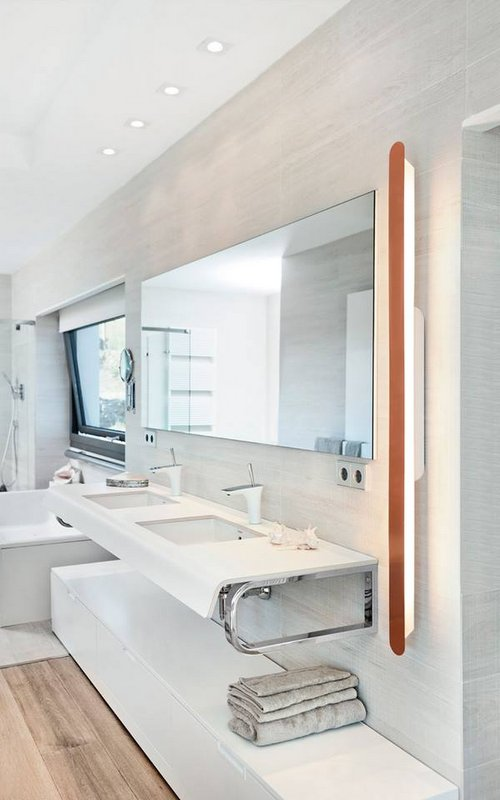Como iluminar el espejo del ba o el blog de - Como iluminar un bano ...