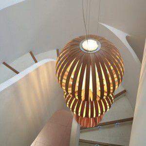 Ilumina el hueco de la escalera el blog de insmat caldes - Lamparas de escalera ...