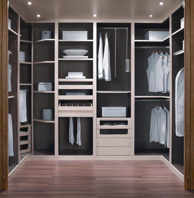 Como iluminar un vestidor el blog de for Tipos de closet para dormitorios