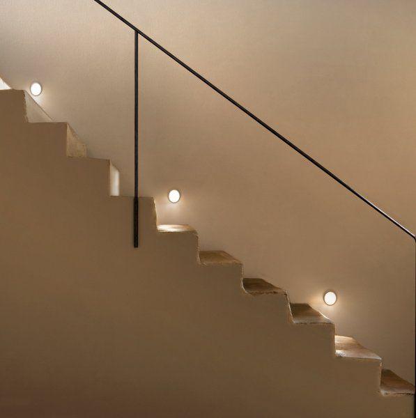 Luz se alizaci n escaleras el blog de - Iluminacion de pared ...